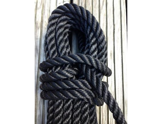Malaga 14mm  schwarz schwimmfähig  28 Meter